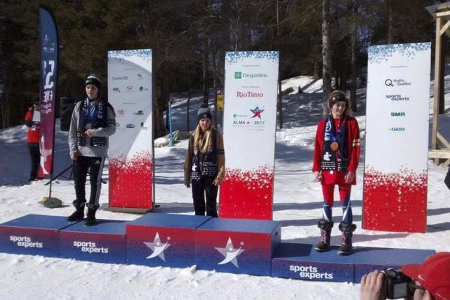L'Almatoise Anaïs Côté a terminé sur la deuxième... (Photo courtoisie)