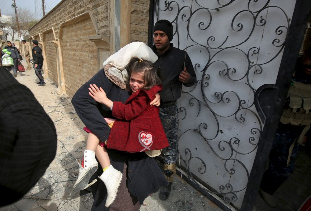 La communauté humanitaire en Irak craint que l'aide... (AFP, Ahmad Al-Rubaye)