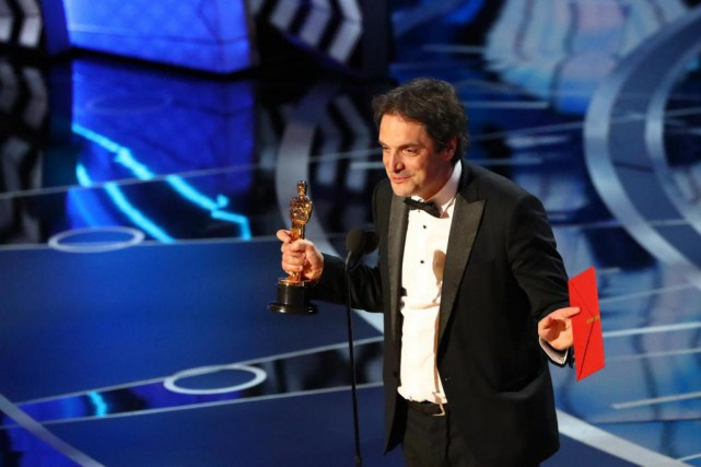 Le Québécois Sylvain Bellemare a remporté l'Oscar du... (PHOTO PATRICK T. FALLON, THE NEW YORK TIMES)