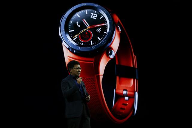 Richard Yu, PDG de la branche consommation de... (Photo Paul Hanna, archives Reuters)