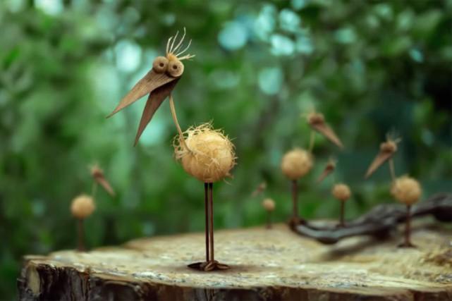 2 escargots s'en vont, de Jean-Pierre Jeunet... (PHOTO FOURNIE PAR LE FIFEM)