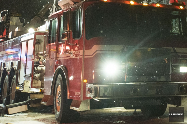 Un début d'incendie a été rapidement maîtrisé, dans la nuit de lundi à mardi,... (Archives La Tribune, Marie-Lou Béland)