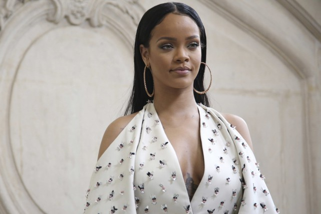 L'Université Harvard estime que la chanteuse Rihanna étincelle comme un diamant... (PHOTO ARCHIVES AP)