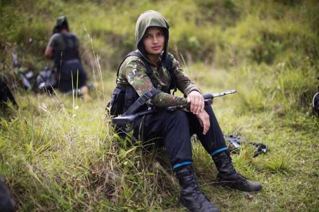 L'accord de paix prévoit que les guérilleros déposent... (Photo Rodrigo Abd, AP)