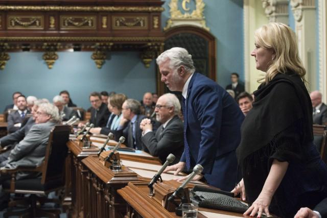 La loi spéciale a été adoptée à 52... (Photo Jacques Boissinot, PC)