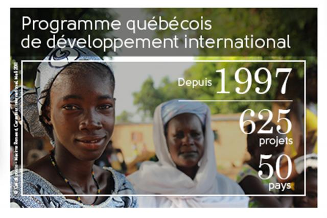 Le ministère des Relations internationales et de la Francophonie investit dans... (Image tirée du site Web du ministère des Relations internationales et de la Francophonie)