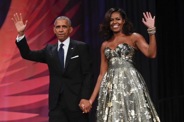 Barack et Michelle Obama... (PHOTO ARCHIVES AP)