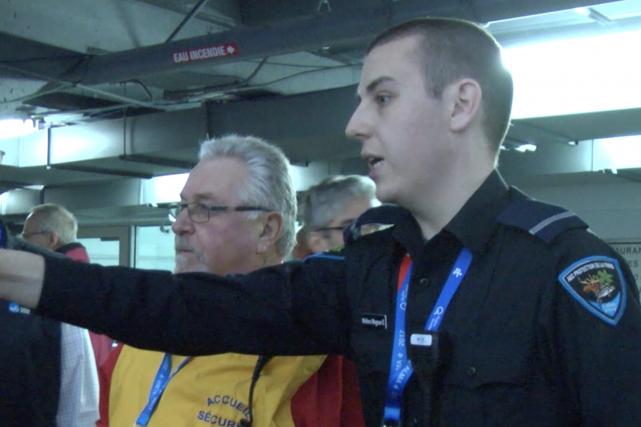 (TOPO ATM, La Pige) -La sécurité entourant les Jeux du Québec est... (La Pige)