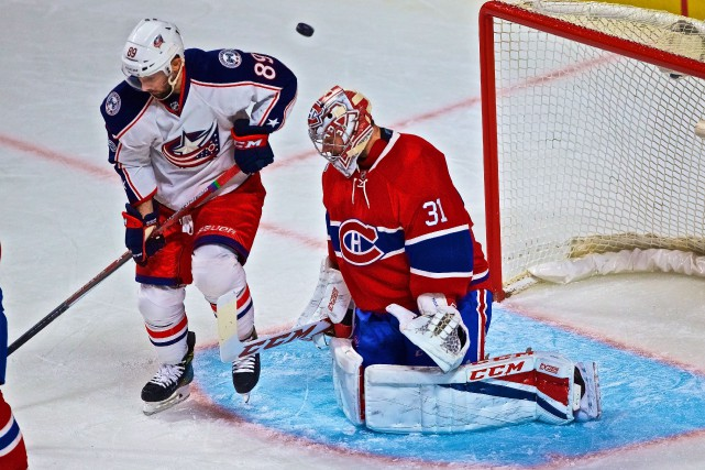 Sam Gagner et Carey Price... (Photo André Pichette, La Presse)