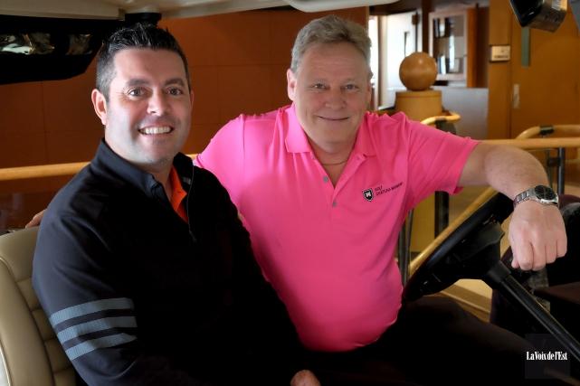 Le nouveau professionnel du Golf Château-Bromont, Dave Lévesque... (Alain Dion, La Voix de l'Est)