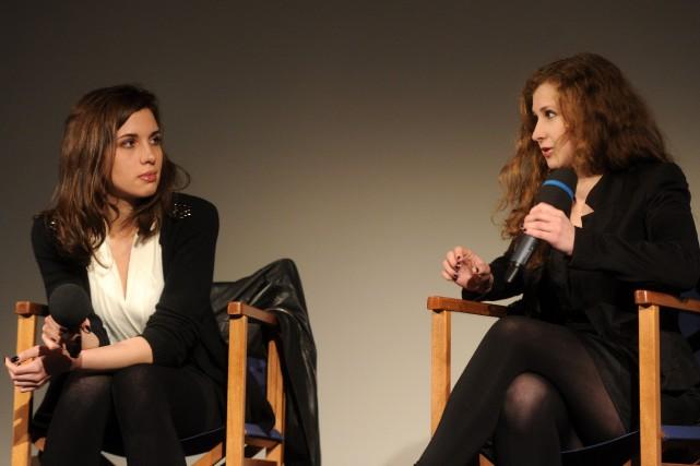 Nadejda Tolokonnikova et Maria Alekhina ont été condamnées... (Photo archives AFP)