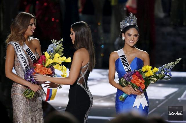 Lors du gala de Miss Univers, en 2015,... (Photothèque Le Soleil)