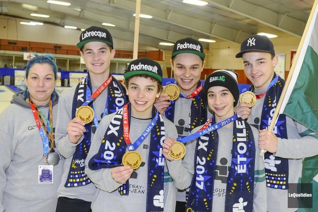 L'équipe de curling masculine de la région est... (Photo Le Quotidien, Gimmy Desbiens)