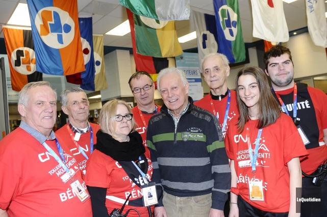 Roger Filion, ambassadeur du bénévolat pour la Finale... (Photo Le Quotidien, Gimmy Desbiens)