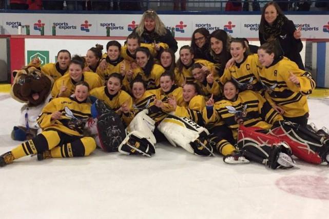 Le Centre-du-Québec a remporté une troisième médaille d'or... (Courtoisie)