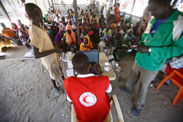 Selon le Haut commissariat de l'ONU pour les... (Photo Ashraf Shazly, Agence France-Presse)