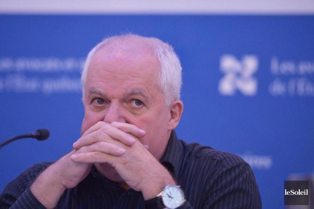 Jean Denis, président de l'association Les avocats et... (Photo Yan Doublet, archives Le Soleil)