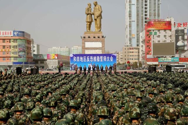 La vidéo est la «première menace directe» de... (Photo AFP)