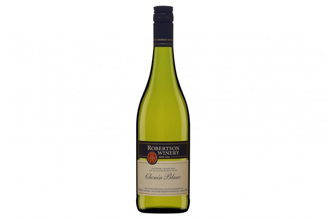Robertson Winery Chenin Blanc, 9,30$... (PHOTO FOURNIE PAR LA SAQ)