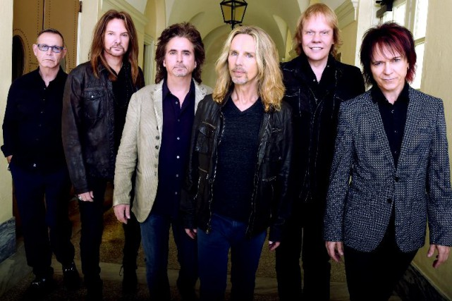Le groupe Styx composé de Chuck Panozzo, Ricky... (Getty Images for STYX)