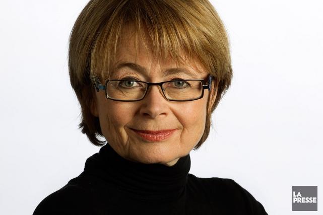 Agnès Gruda... (La Presse)