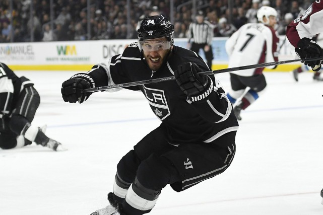 Dwight King a récolté 15 points en 63 matchs... (Photo Mark J. Terrill, AP)