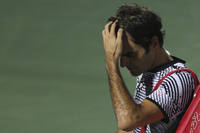 Roger Federer... (Photo Kamran Jebreili, AP)