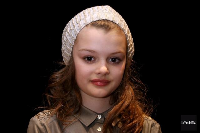 La jeune Granbyenne de 10 ans Sydney Lallier... (Christophe Boisseau-Dion, La Voix de l'Est)