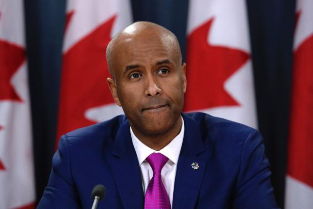 Le ministre fédéral de l'ImmigrationAhmed Hussen... (PHOTO Adrian Wyld, ARCHIVES LA PRESSE CANADIENNE)