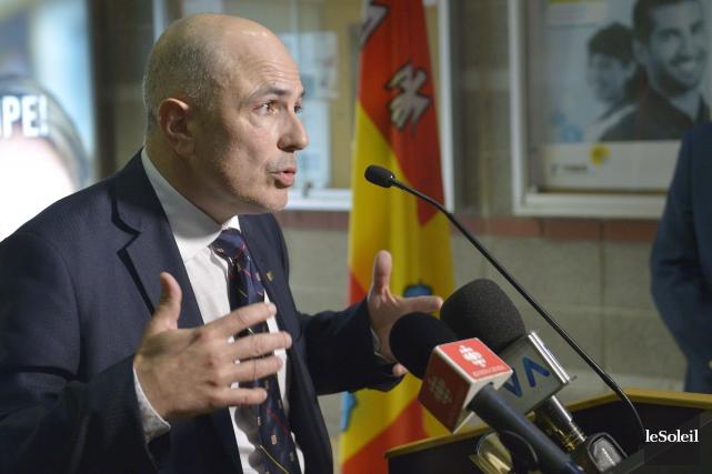 Le vice-recteur exécutif de l'Université Laval Éric Bauce... (Photothèque Le Soleil, Yan Doublet)