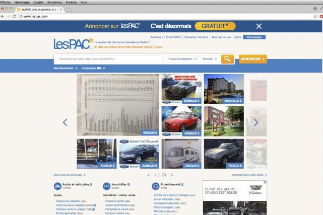LesPAC revoit sa stratégie d'affaires et devient une plateforme d'annonces...