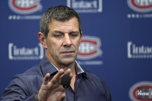 Le dg du Canadien, Marc Bergevin, a ajouté... (La Presse, Bernard Brault)