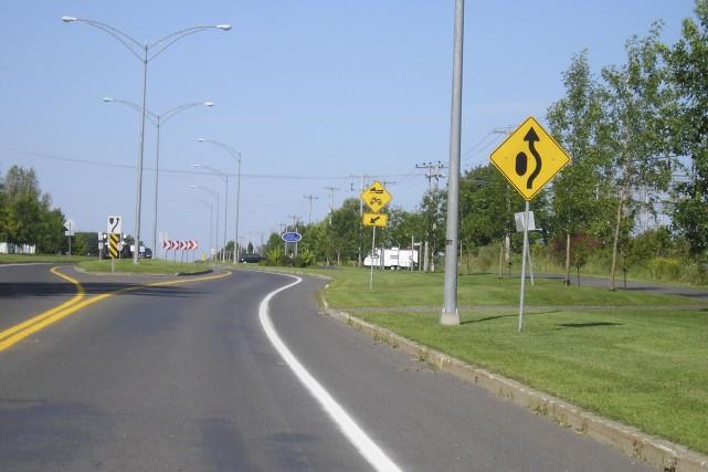 L'entrée est sur la route 116 à Dosquet... (Fournie par Ruesécure)