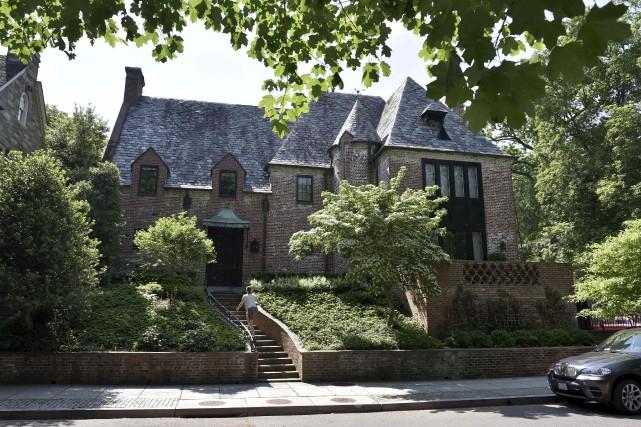 Barack Obama compte habiter cette maison durant au... (AFP, Mandel Ngan)