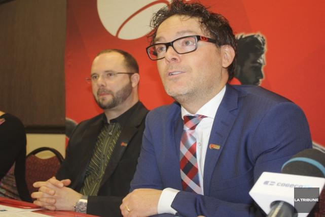 Le directeur des tournois de Tennis Canada, Richard... (La Tribune, Yanick Poisson)