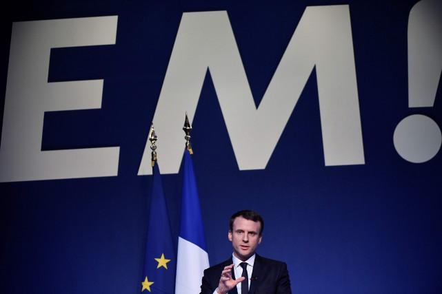 Emmanuel Macron... (Photo Lionel Bonaventure, Agence France-Presse)