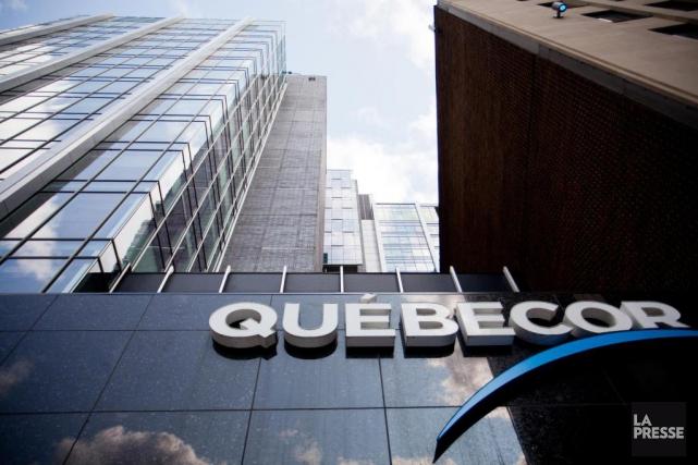Les résultats de Québecor sont en hausse pour le deuxième trimestre de... (PHOTO SARAH MONGEAU-BIRKETT, archives LA PRESSE)