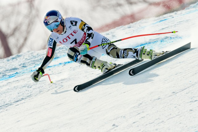 Lindsey Vonn... (Photo Fabrice Coffrini, AFP)