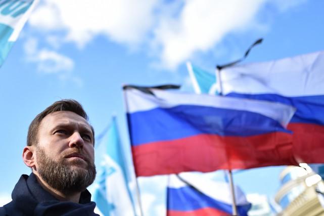 Selon l'opposant et blogueur Alexeï Navalny, le premier... (PHOTO KIRILL KUDRYAVTSEV, ARCHIVES AFP)