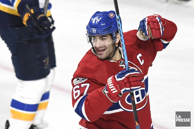 Max Pacioretty a inscrit 14 points en 13 matchs... (Photo Bernard Brault, La Presse)