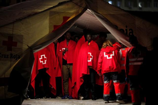 Quelque 13 500 demandeurs d'asile ont pour l'heure... (PHOTO REUTERS)