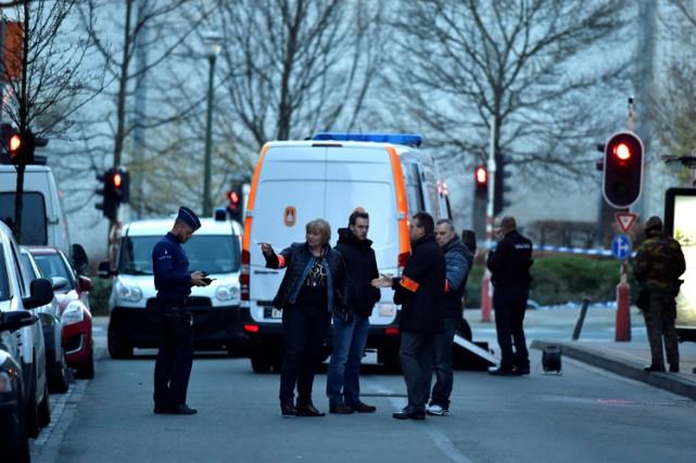 Les forces de l'ordre belges sont en état... (PHOTO REUTERS)