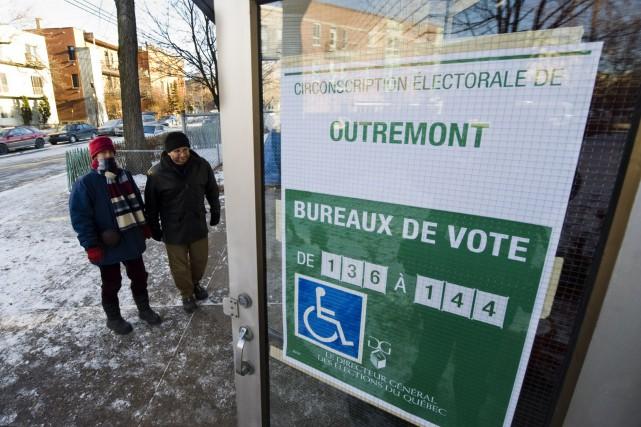 Le DGEQ a annoncé jeudil'abolition d'une circonscription sur... (Photo archives AFP)