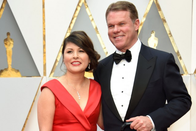 Martha L. Ruiz et Brian Cullinan... (PHOTO AFP)