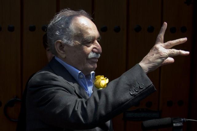 Gabriel García Márquezlors de son 87e anniversaire de... (PHOTO ARCHIVES AP)