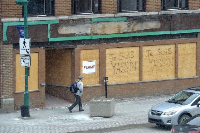 Certains édifices du centre-ville de Sherbrooke destinés au... (Spectre Média, Maxime Picard)