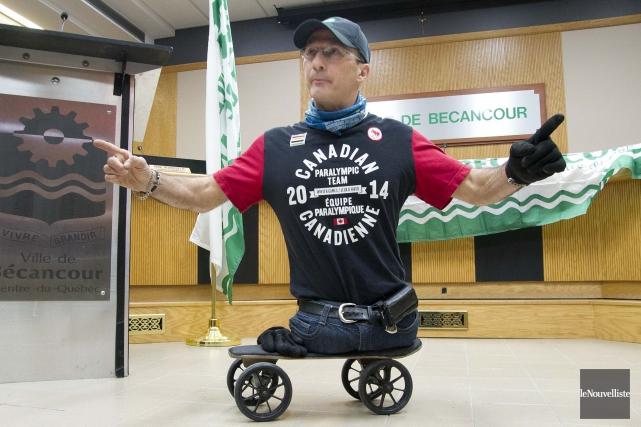 Yves Bourque souhaite retourner aux Jeux olympiques.... (S)