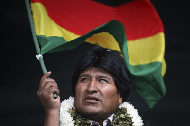 Le président bolivien, Evo Morales... (Photo Dado Galdieri, archives AP)