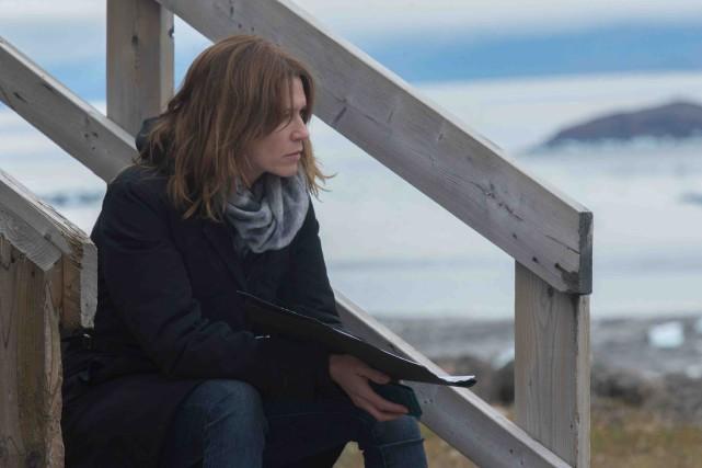 Dans Iqaluit, Marie-Josée Croze joue le rôle de... (Fournie par Les Films Séville)