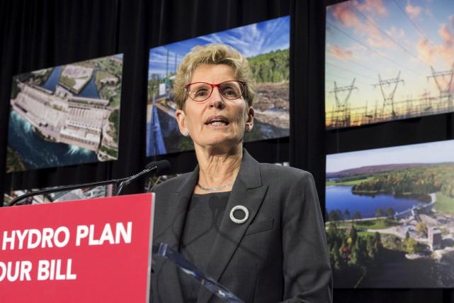 Le gouvernement Wynne dit que les coûts de... (La Presse canadienne)